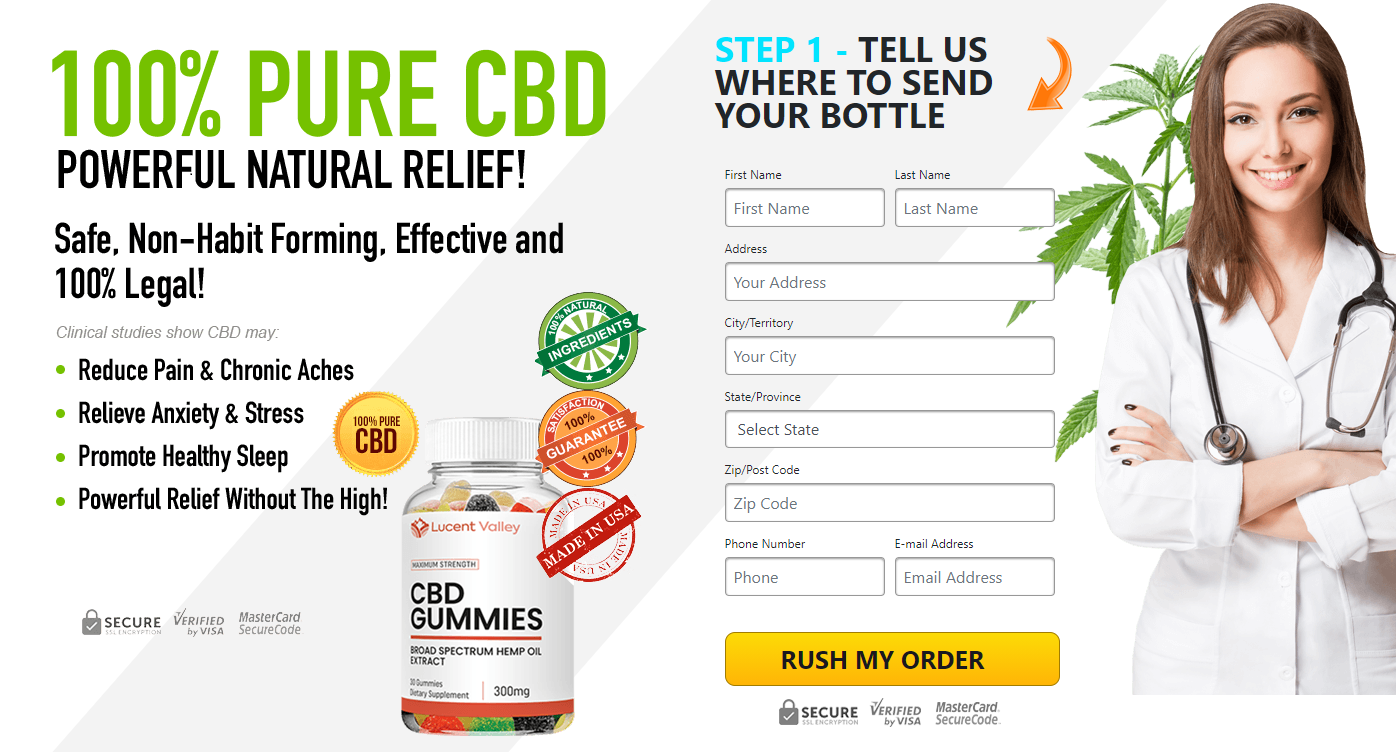 Lucent Valley CBD Gummies Review: How Does Work & Where To Buy?