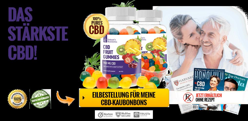 Sarah's Blessing CBD Fruit Gummies Deutschland