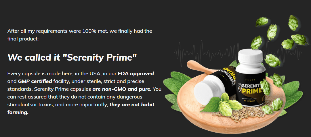 Serenity Prime Hearing Supplement