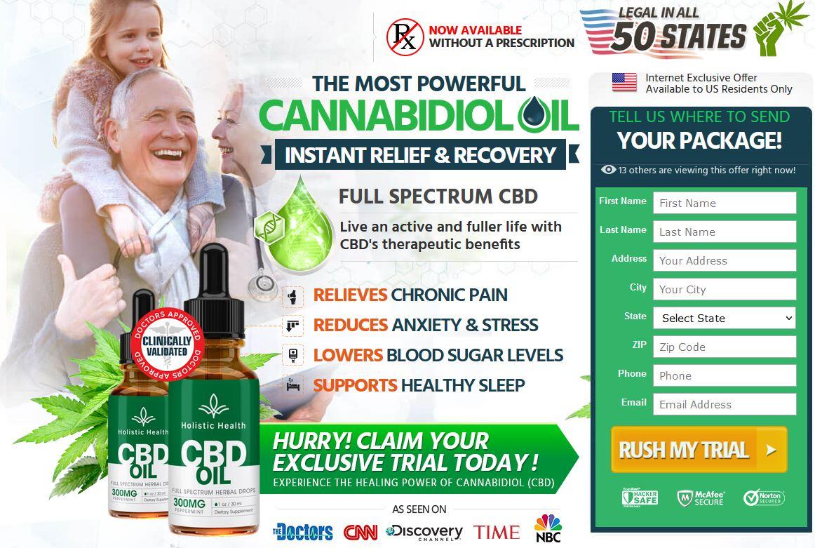 Holistic Health CBD Oil